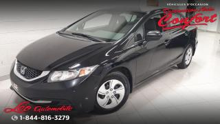 Used 2014 Honda Civic LX 4 portes CVT for sale in Chicoutimi, QC