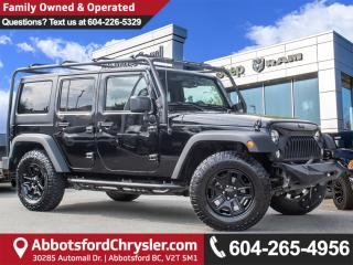 Used 2015 Jeep Wrangler Unlimited Sport *ACCIDENT FREE* for sale in Abbotsford, BC