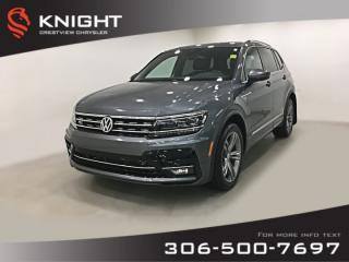 Used 2018 Volkswagen Tiguan Highline | Leather | Sunroof | Navigation for sale in Regina, SK