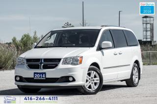 Used 2014 Dodge Grand Caravan Crew*LTD*Tech*DVD*Nav Leather Certified We Finance for sale in Bolton, ON