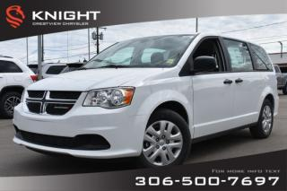 Used 2019 Dodge Grand Caravan Canada Value Package | 'Stow N Go' | Back-up Camera for sale in Regina, SK