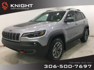 New 2020 Jeep Cherokee Trailhawk Elite 4x4 V6 | Sunroof | Navigation for sale in Regina, SK