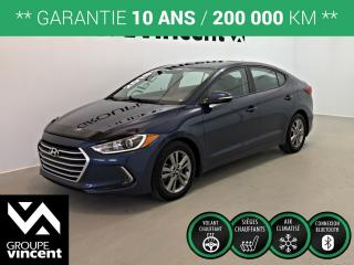 Used 2018 Hyundai Elantra GL ** GARANTIE 10 ANS ** Fiable et économique! for sale in Shawinigan, QC