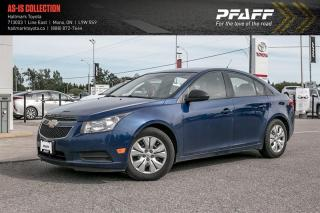 Used 2013 Chevrolet Cruze LS Sedan for sale in Orangeville, ON