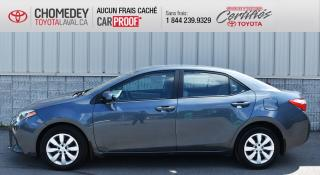 Used 2016 Toyota Corolla LE, AUTOMATIQUE ** SEULEMENT 11174 KM ** for sale in Laval, QC