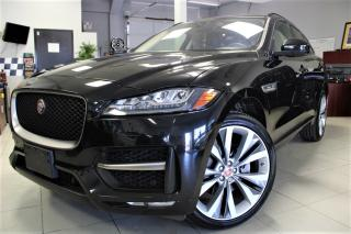 Used 2017 Jaguar F-PACE 35t R-Sport FULLY LOADED|PANO ROOF|R SPORT|NAVI|SUPERCHARGED for sale in Bolton, ON