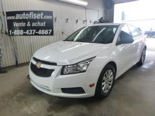 Used 2011 Chevrolet Cruze 2011 Chevrolet Cruze - 4dr Sdn LS w-1SA for sale in St-Raymond, QC