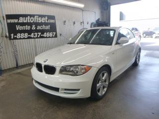 Used 2010 BMW 1 Series 2010 BMW 1 Series - 2dr Cpe 128i for sale in St-Raymond, QC
