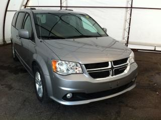 Used 2018 Dodge Grand Caravan Crew NAVIGATION, POWER DOOR GROUP, REVERSE CAMERA, BLUETOOTH STREAMING for sale in Ottawa, ON