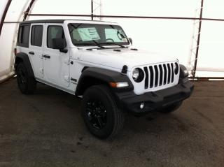 Used 2020 Jeep Wrangler UNLIMITED SPORT for sale in Ottawa, ON