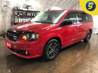 Used 2014 Dodge Grand Caravan SXT Plus * Stow N Go * Black alloy rims * Phone connect * Tri zone climate control with rear vents * Heated mirrors * Power windows with 2nd row and b for sale in Cambridge, ON