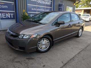 Used 2010 Honda Civic Dx-g + a/c + 84 000 km for sale in Boisbriand, QC