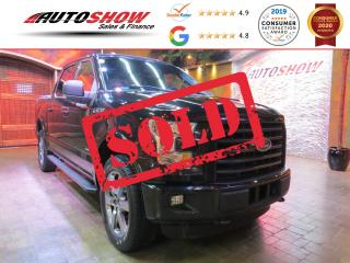 Used 2015 Ford F-150 EcoBoost Sport - Htd Seats & Big T.Screen! for sale in Winnipeg, MB
