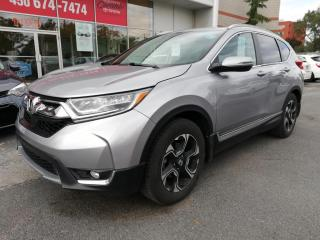 Used 2017 Honda CR-V TOURING AWD * TOIT PANORAMIQUE ** CUIR * for sale in Longueuil, QC