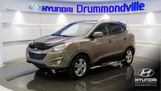 Used 2012 Hyundai Tucson GLS + AWD + CUIR + MAGS + BLUETOOTH + FO for sale in Drummondville, QC