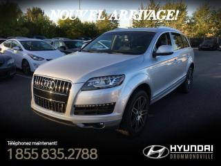 Used 2013 Audi Q7 TDI PREMIUM + NAVI + TOIT PANO + WOW !! for sale in Drummondville, QC