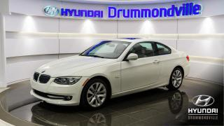 Used 2011 BMW 328 CUIR + TOIT + 68 954KM !! + A/C + CRUISE for sale in Drummondville, QC