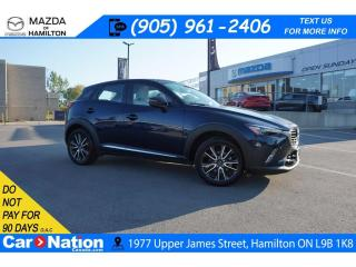 Used 2017 Mazda CX-3 GT | NAV | SUNROOF | BOSE | LEATHERETTE for sale in Hamilton, ON
