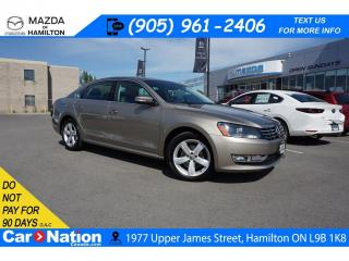 Used 2015 Volkswagen Passat 2.0 TDI Comfortline 2.0 TDI | DIESEL | NAV | SUNROOF | LEATHER for sale in Hamilton, ON