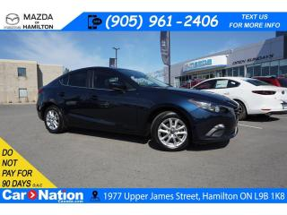 Used 2016 Mazda MAZDA3 GS | SUNROOF | REAR CAM | BLUETOOTH for sale in Hamilton, ON
