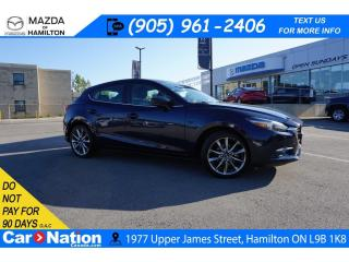 Used 2018 Mazda MAZDA3 GT | LEATHER | SUNROOF | NAV | BOSE for sale in Hamilton, ON