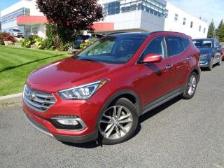 Used 2018 Hyundai Santa Fe Sport 2.0T Limited * TOIT * NAV * CUIR * for sale in Ste-Julie, QC