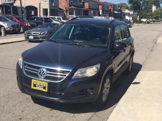 Used 2011 Volkswagen Tiguan 4dr Auto Trendline 4Motion for sale in Scarborough, ON