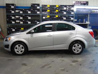 Used 2013 Chevrolet Sonic LS for sale in Amos, QC