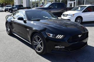 Used 2016 Ford Mustang GT MANUELLE 15000 KM NOIR/NO for sale in St-Hubert, QC