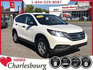 Used 2014 Honda CR-V LX AWD **UN PROPRIÉTAIRE** for sale in Charlesbourg, QC