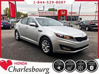 Used 2013 Kia Optima LX AUTOMATIQUE*BANCS CHAUFFANT*BLUETOOTH for sale in Charlesbourg, QC