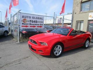 Used 2013 Ford Mustang Convertible V6 Premium Automatique for sale in Montréal, QC