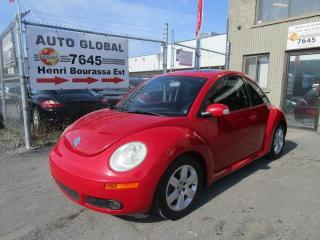 Used 2007 Volkswagen New Beetle CUIR, MAGS TOIT OUVRANT A/C AUTOMATIQUE for sale in Montréal, QC
