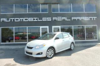 Used 2010 Toyota Matrix AIR CLIMATISÉ - GARANTIE - for sale in Québec, QC