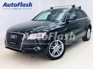 Used 2017 Audi Q5 2.0T Progressiv *S-Line *GPS/Camera *Toit-Pano * for sale in St-Hubert, QC