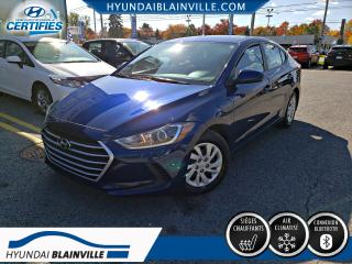 Used 2017 Hyundai Elantra Le Bluetooth, Bancs for sale in Blainville, QC