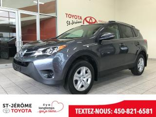 Used 2015 Toyota RAV4 * LE * AWD * SIÈGES CHAUFFANT * CAMÉRA * for sale in Mirabel, QC