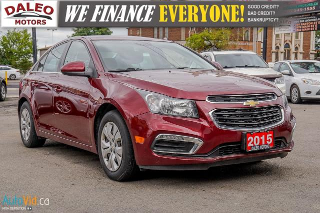 2015 Chevrolet Cruze 1LT | LOW KMS | BACKUP CAM | BLUETOOTH |