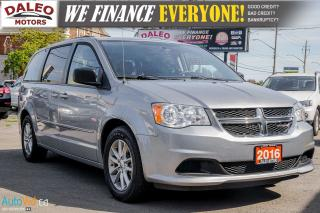 Used 2016 Dodge Grand Caravan SXT | CAPTAIN CHAIRS | STOW N GO | BLUETOOTH | for sale in Hamilton, ON