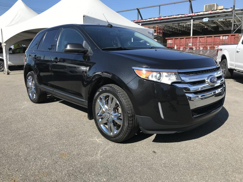 Ford St Eustache >> Used 2013 Ford Edge 4 Portes Sel Traction Integrale Cuir To