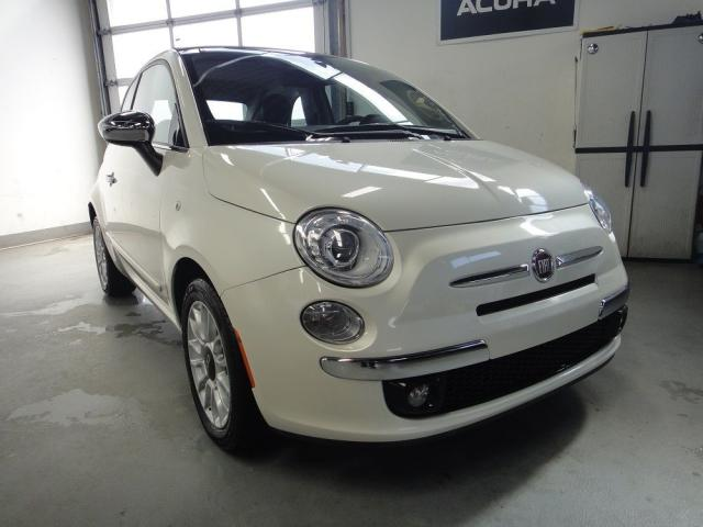 2012 Fiat 500 ONE OWNER,NO ACCIDENT,ALL SERVICE RECORDS