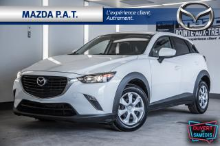 Used 2017 Mazda CX-3 2017 CX-3 +AWD +CAMERA DE RECUL+JAMAIS ACCIDENTÉ for sale in Montréal, QC