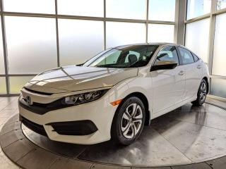 Used 2016 Honda Civic Sedan LX - One Owner! - Accident Free Carfax! for sale in Edmonton, AB