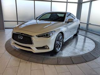 Used 2018 Infiniti Q60 Red Sport 400HP/TECH PKG for sale in Edmonton, AB
