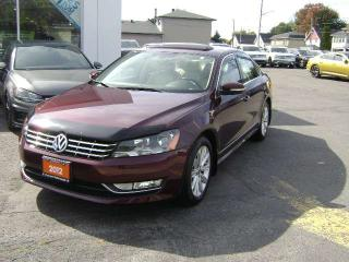 Used 2012 Volkswagen Passat HIGHLINE 2.5 for sale in Cornwall, ON