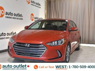 Used 2018 Hyundai Elantra Limited, 2.0L I4, Fwd, Leather/Cloth heated seats, Heated steering wheel, Backup camera, Sunroof, Bluetooth for sale in Edmonton, AB