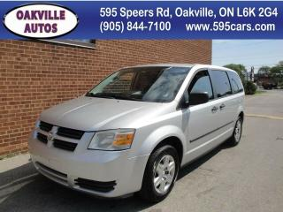 Used 2008 Dodge Grand Caravan SE, Certified, 104K KM Only for sale in Oakville, ON