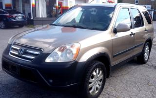 Used 2005 Honda CR-V EX 4WD AT for sale in St. Catharines, ON
