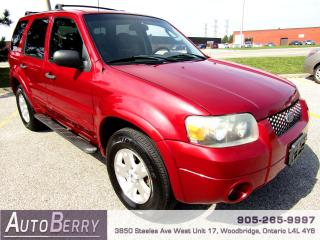 Used 2007 Ford Escape XLT - 4WD - 3.0L for sale in Woodbridge, ON