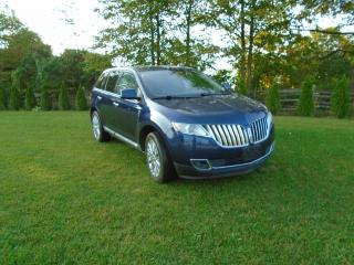 Used 2011 Lincoln MKX for sale in Durham, ON